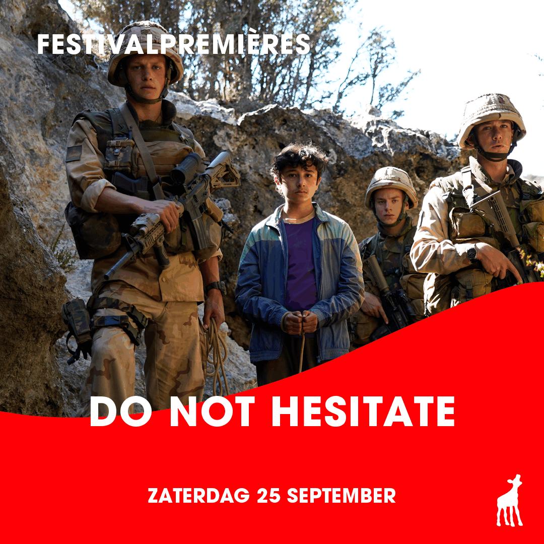 DO NOT HESITATE| 25 september