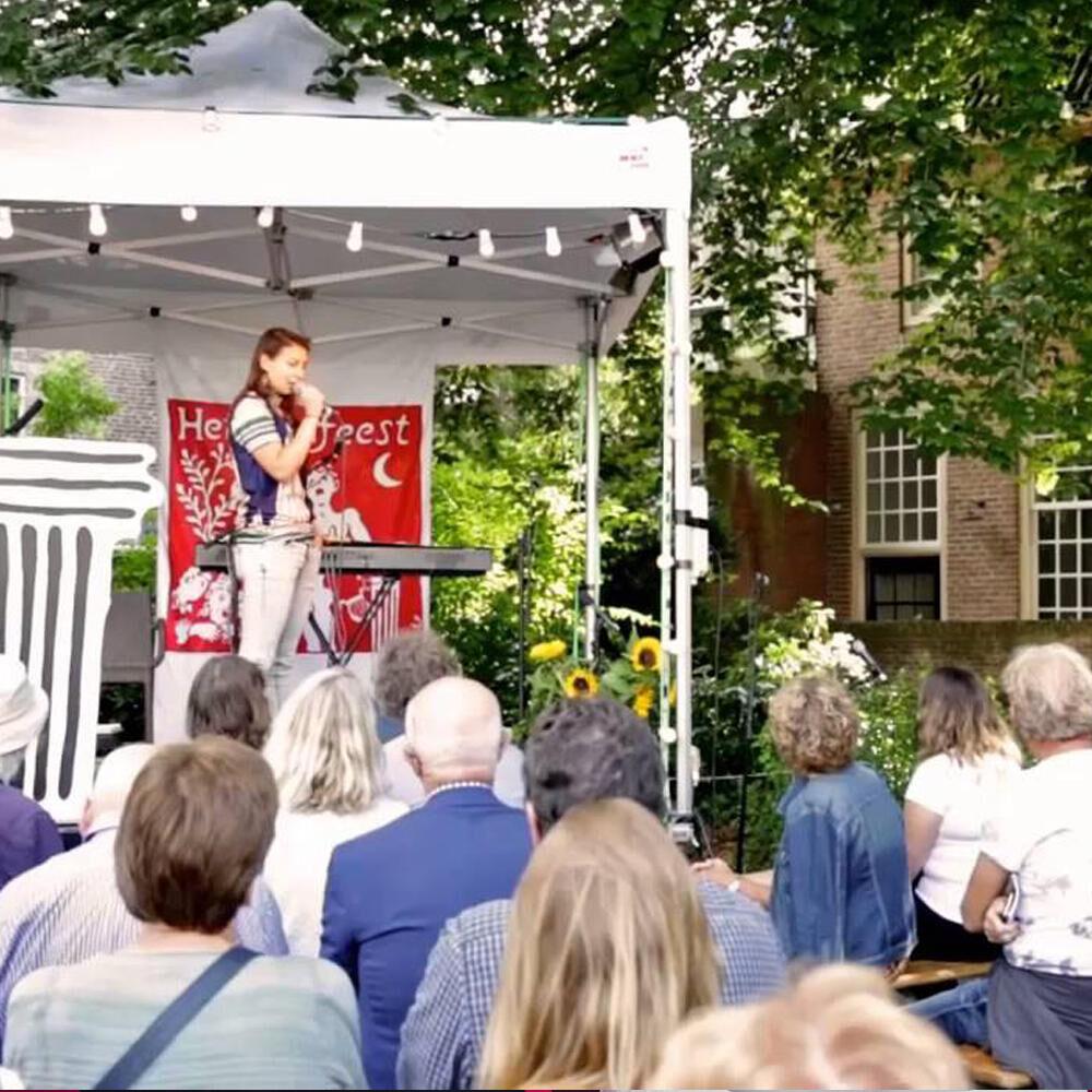 Poëziefestival Het Tuinfeest