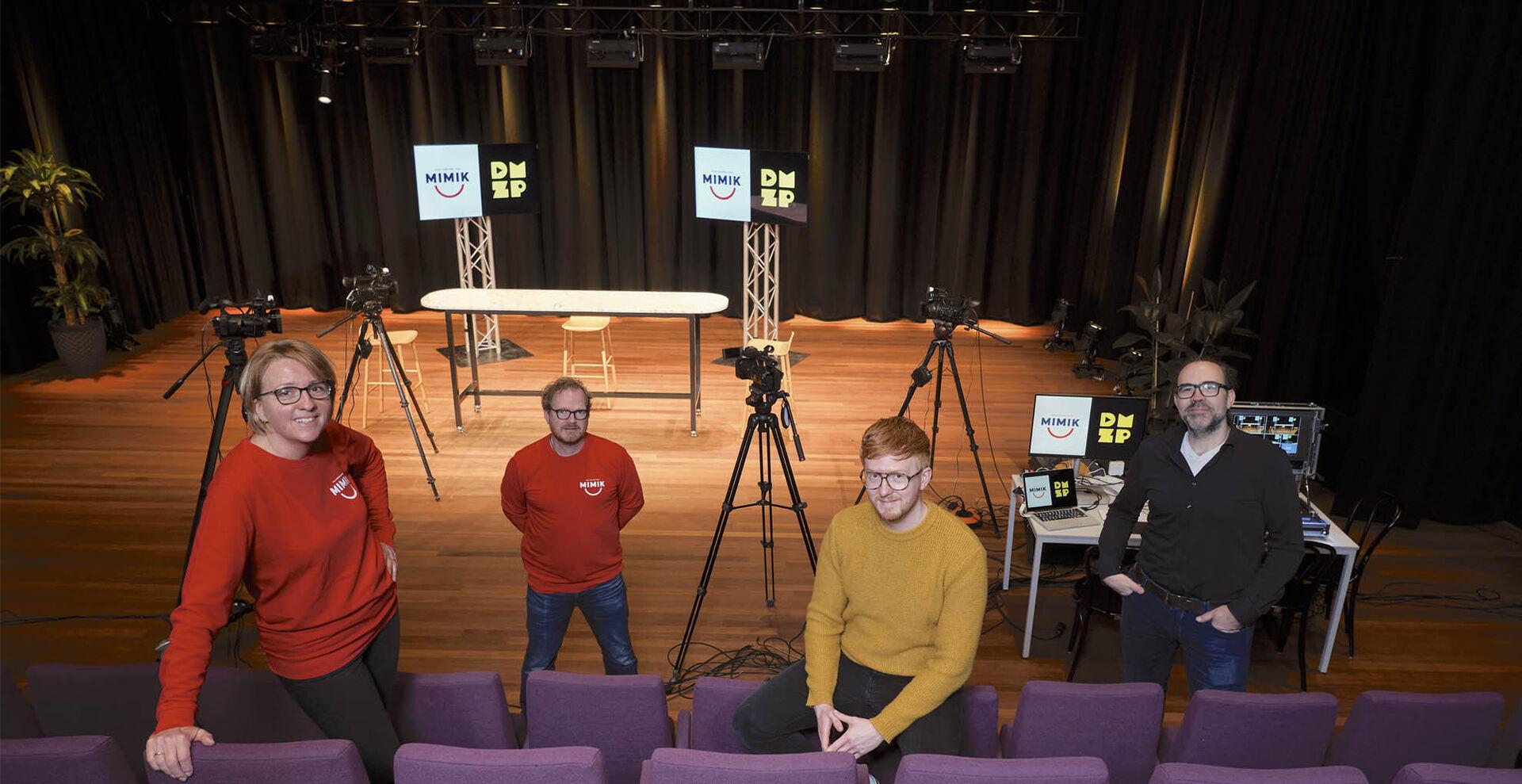 Professionele online live-uitzendingen bij MIMIK