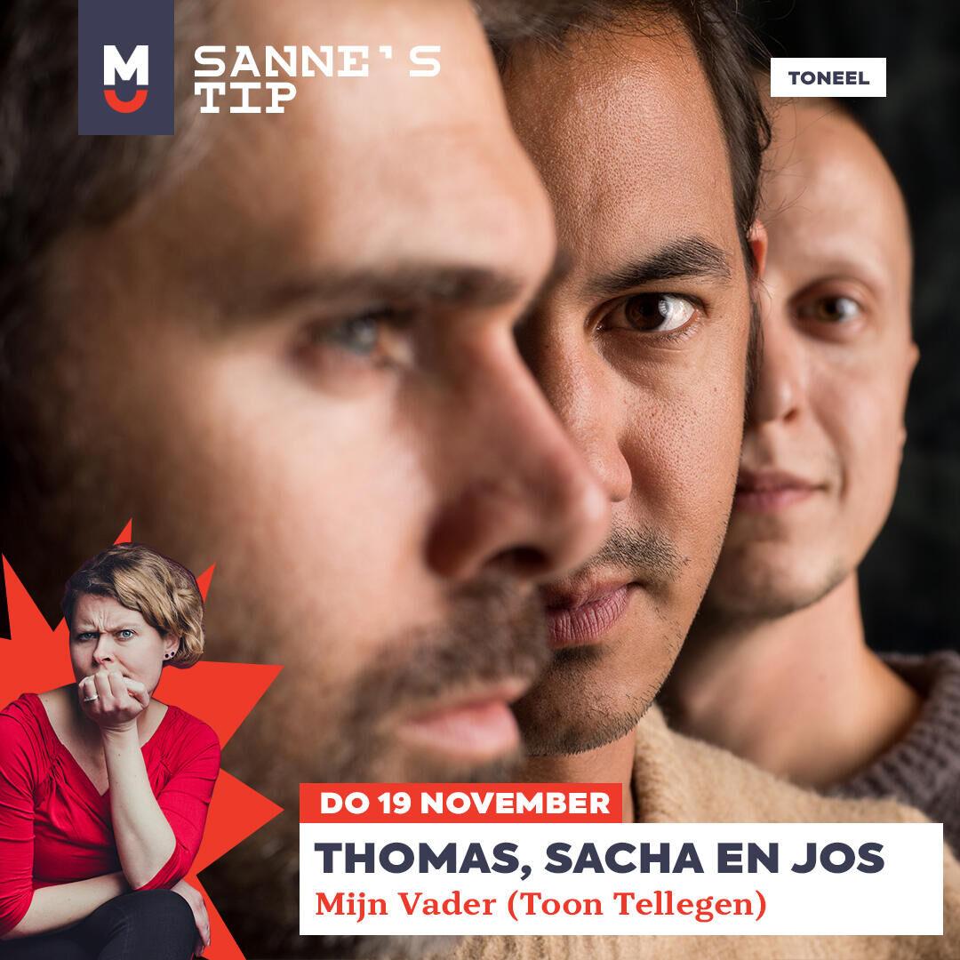 Tip 2! Thomas, Sacha en Jos